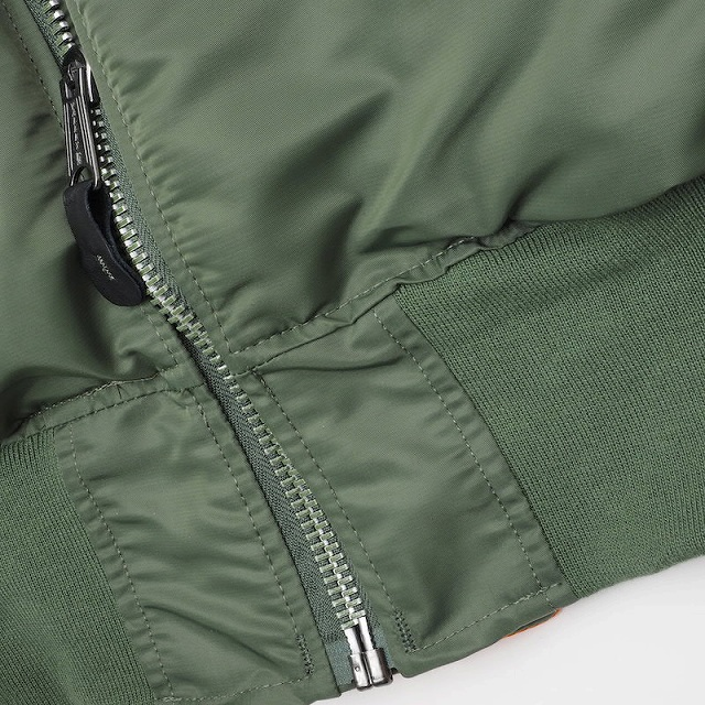 Valley Apparel L.L.C. (バレー アパレル)1980's MA-1 BASIC [米軍納入業者][3色][MADE in U.S.A]