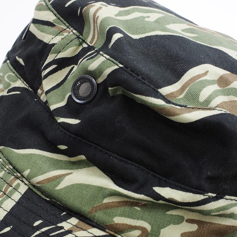 SESSLER(セスラー) タイガーストライプ ブッシュハット [2色]【中田商店】