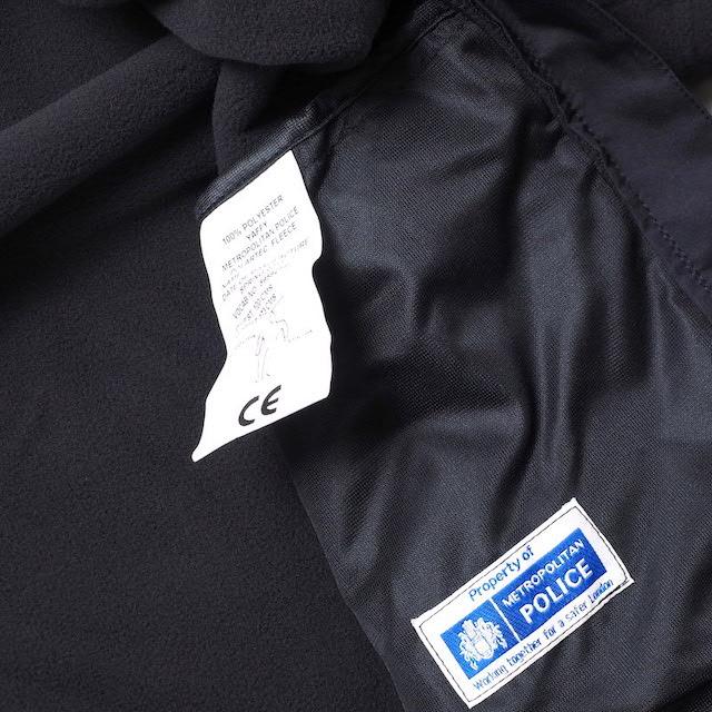 ワールドサープラス イギリス メトロポリタン ポリス フリース ポーラテック [BLACK]