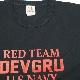 【Military Style/ミリタリースタイル】DEVGRU RED TEAM BP T-SHIRT 2018 デブグル レッド チーム バックプリント ショートスリーブ Tシャツ