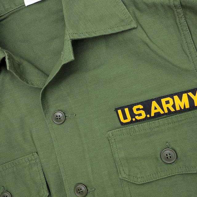 SESSLER(セスラー)Utility Shirt OD US ARMY ユーティリティー シャツ [米陸軍仕様パッチ付]【中田商店】