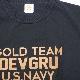 【Military Style/ミリタリースタイル】DEVGRU GOLD TEAM BP T-SHIRT 2018 デブグル ゴールド チーム バックプリント ショートスリーブ Tシャツ