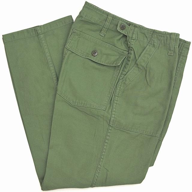 SESSLER(セスラー)ユーティリティ パンツ ボタンフライ 1964 Utility Pants OD【中田商店】