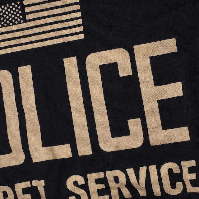 【Military Style/ミリタリースタイル】U.S. SECRET SERVICE POLICE ショートスリーブ Tシャツ[2色]