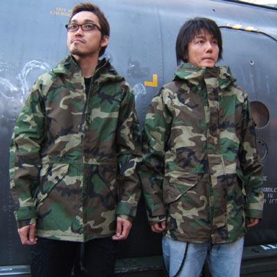 US(米軍放出品) ECWCS パーカー ウッドランド TYPE-1【送料無料】