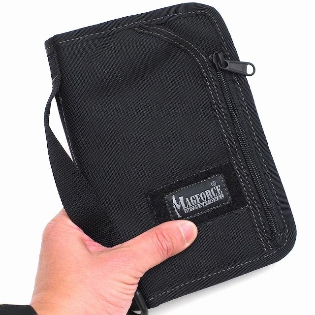 MAGFORCE(マグフォース)Travel Passport Pouch トラベル パスポート ポーチ [MF-0820][1000Dハードナイロン]