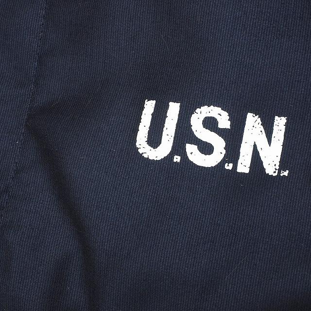 HOUSTON(ヒューストン)N-1 デッキジャケット ネイビー【送料無料】