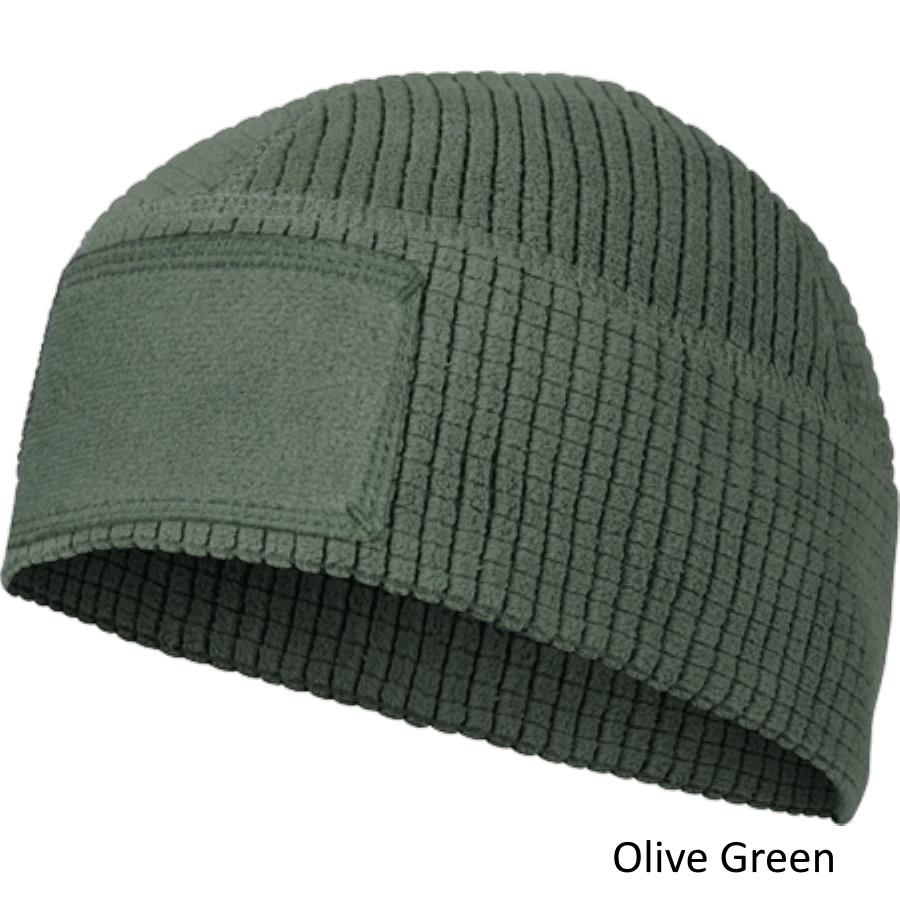 HELIKON-TEX(ヘリコンテックス) Range Beanie Cap グリッドフリースキャップ [Black、Olive Green、Coyote]【中田商店】