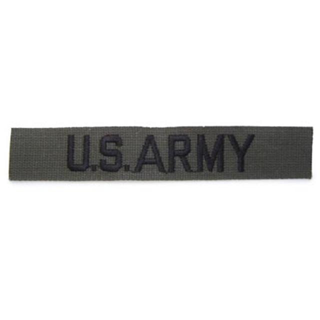 【ミリタリーパッチ】US ARMY テープ[サブデュード][コットン]