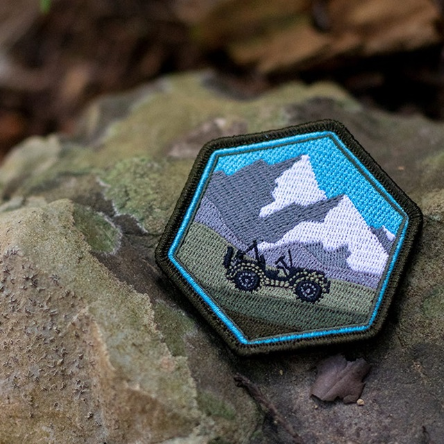 PROMETHEUS DESIGN WERX (プロメテウスデザインワークス) PDW Leave Only Tracks 2020 Morale Patch [フック付き]