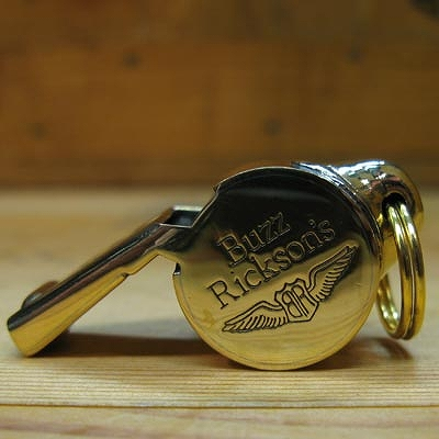 BUZZ RICKSON'S (バズリクソン)ホイッスル [アクメ社 ブラス製][Made in England]