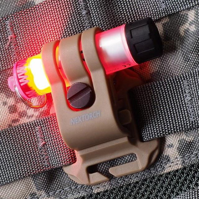 NEXTORCH(ネクストーチ)GTK GLO-TOOB Tactical Kit [2色]