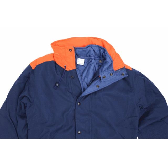 ワールドサープラス イタリア海軍防寒ジャケット [ネイビー×オレンジ]