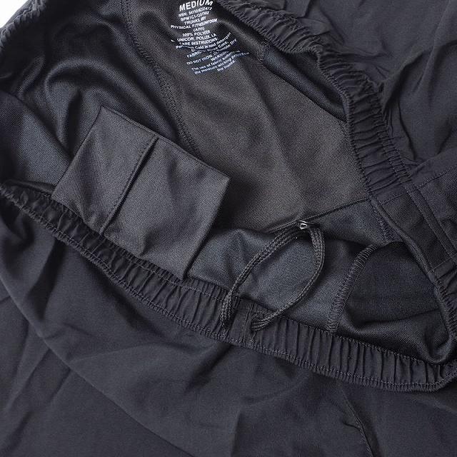 US(米軍放出品)ARMY PHYSICAL FITNESS UNIFORM TRUNKS トレーニングショーツ ブラック[新品][APFU]
