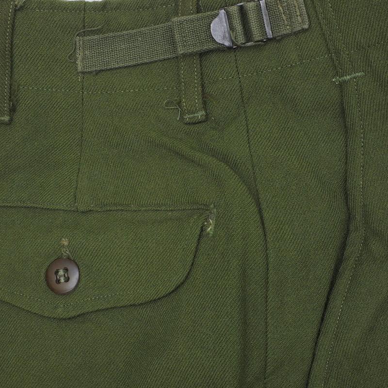 US(米軍放出品)M-51 ウールフィールドパンツ OD [50年代製][デッドストック]