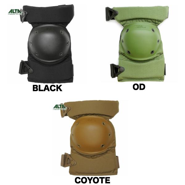 ALTA(アルタ)AltaContour ニーパッド AltaLok [Black、Coyote、OD][アルタ コンツアー ニーパッド][軽量][ロープロファイル][高機動モデル]【ヒザ用】