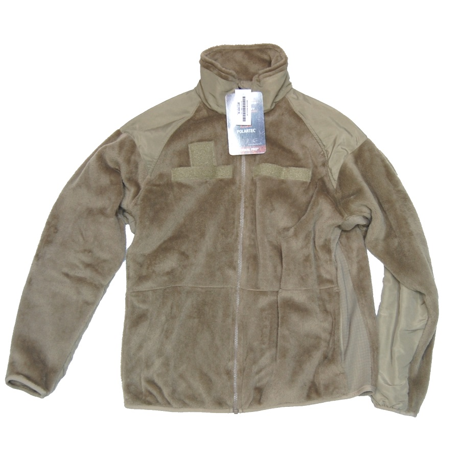 US(米軍放出品)ECWCS Gen III Level 3 Fleece [COYOTE][ポーラテック]