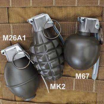 MILITARY(ミリタリー)手榴弾型BBボトル [3種類]