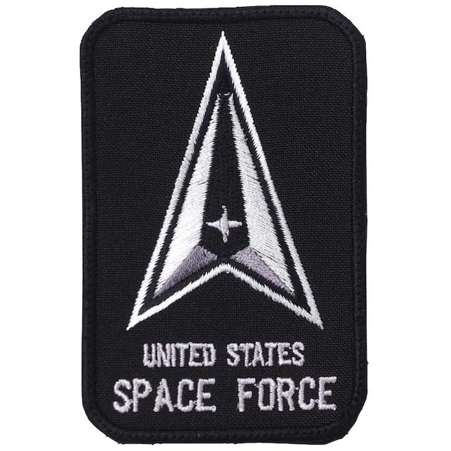 【ミリタリーパッチ】UNITED STATES SPACE FORCE [フック付き]