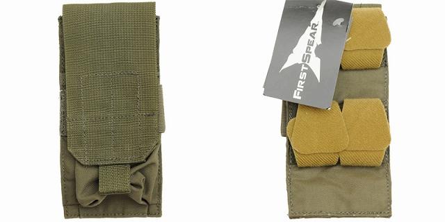 【クリアランスSALE】First Spear(ファーストスピア)[6/12] M-4 Single Magazine Pocket [ライトウエイト][コヨーテ、レンジャーグリーン]
