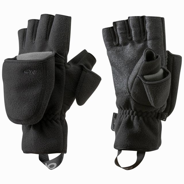 Outdoor Research(アウトドアリサーチ)グリッパーコンバーチブルグローブ [Black][OR Gripper Convertible Gloves]