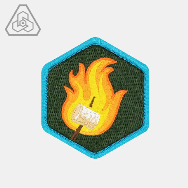 PROMETHEUS DESIGN WERX (プロメテウスデザインワークス) PDW Expert Camper Morale Patch [フック付き]