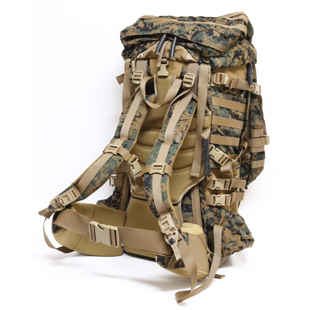 US(米軍放出品)USMC ILBE パックシステム MARPAT [海兵隊大型遠征用バッグパック完全セット][未使用品][PROPPER社製][Arc'teryxデザイン]