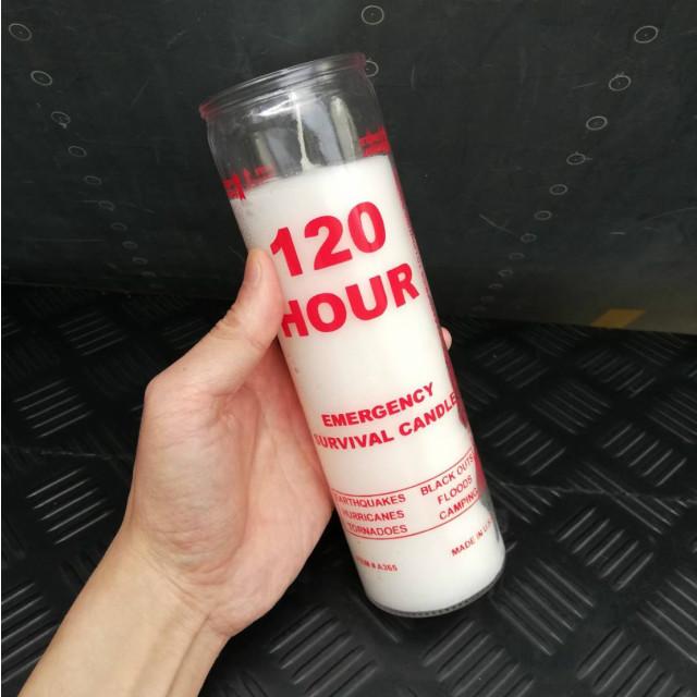 MILITARY(ミリタリー)エマージェンシーキャンドル [Emergency Survival Candles] 120時間 ローソク アメリカ製