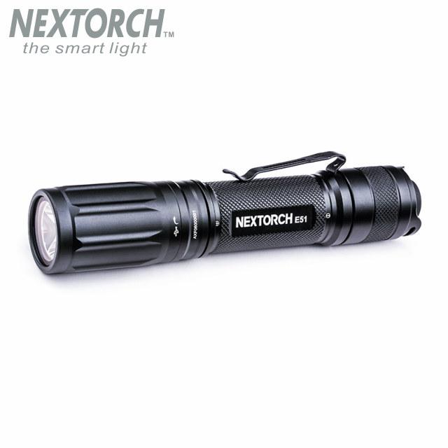 NEXTORCH(ネクストーチ)E51 Flashlight V2.0 [充電式フラッシュライト][3段階調光+ストロボ点灯]