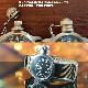 M.R.C. WATCH CO.(モントルロロイ)U.S.NAVY BUSHIPS アメリカ海軍 艦艇用腕時計 12時間ブラックダイアル [クォーツムーブメント][WW2 REPLICA][黒文字盤]