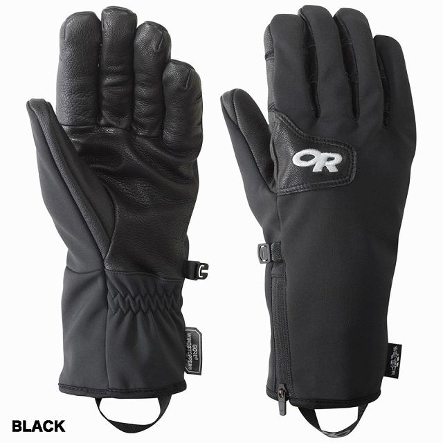 Outdoor Research(アウトドアリサーチ)ストームトラッカーグローブ [Black、Coyote/Black][OR Stormtracker Sensor Gloves][Windstopper][タッチスクリーン対応]