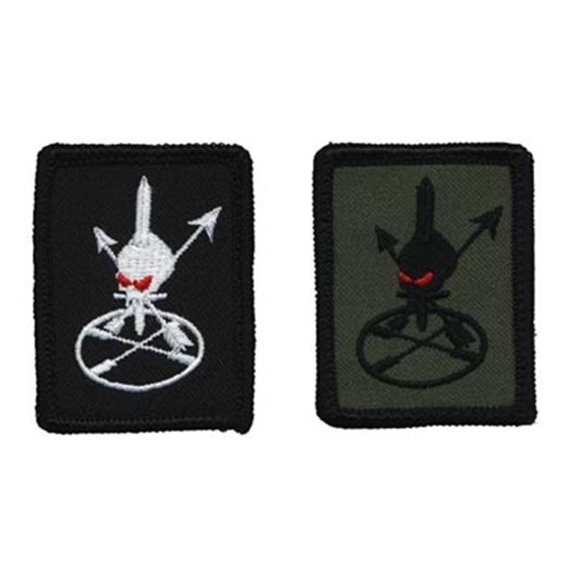 【ミリタリーパッチ】US ARMY Special Forces ODA アーミー スペシャルフォース ミニパッチ 各色 フック付き