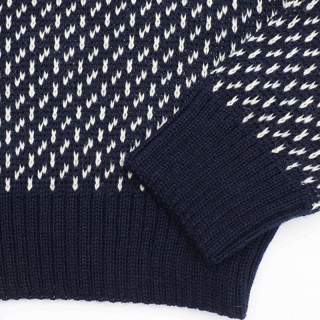 KEMPTON(ケンプトン)Woolly Pully ノルウェー海軍 DECK SWEATER [NAVY][BEIGE]