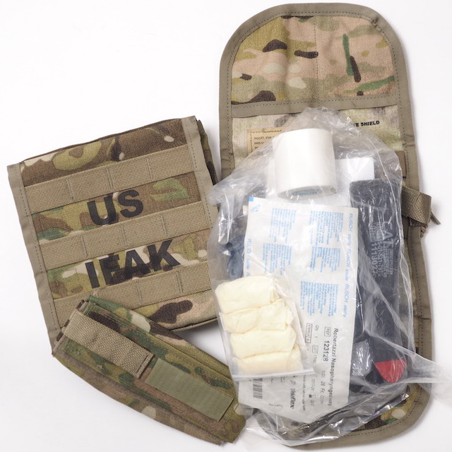 US(米軍放出品)IFAK2 Pouch [OCP] Individual First Aid Kit [インディビジュアル ファーストエイド キット2 ポーチ]