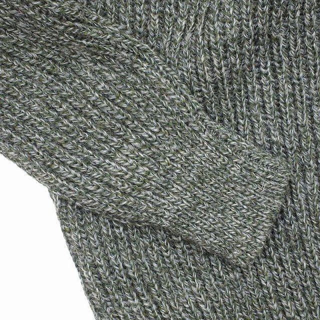 KEMPTON(ケンプトン)Woolly Pully HARRIS TWEED HUNTING SWEATER [DARK GRAY][DERBY TWEED][CHARCOAL GRAY]
