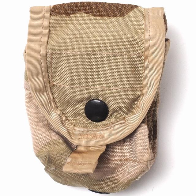 US(米軍放出品)MOLLE II Hand Grenade Pouch [中古品][3Cデザート][ハンドグレネードポーチ]