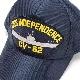 EAGLE CREST(イーグルクレスト)BASEBALL CAP [CV-62 USS INDEPENDENCE][ネイビー]