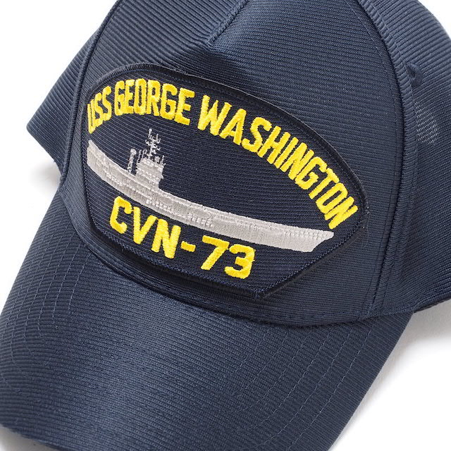 EAGLE CREST(イーグルクレスト)BASEBALL CAP [CVN-73 USS GEORGE WASHINGTON][ネイビー]