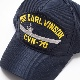 EAGLE CREST(イーグルクレスト)BASEBALL CAP [CVN-70 USS CARL VINSON][ネイビー]