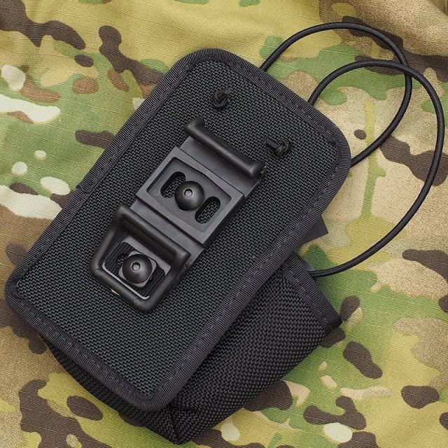 【SAFARILAND サファリランド】Levitation Radio Case ラジオ(無線機)ケース ブラック [54292-4-4BL]