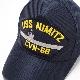 EAGLE CREST(イーグルクレスト)BASEBALL CAP [CVN-68 USS NIMITZ][ネイビー]