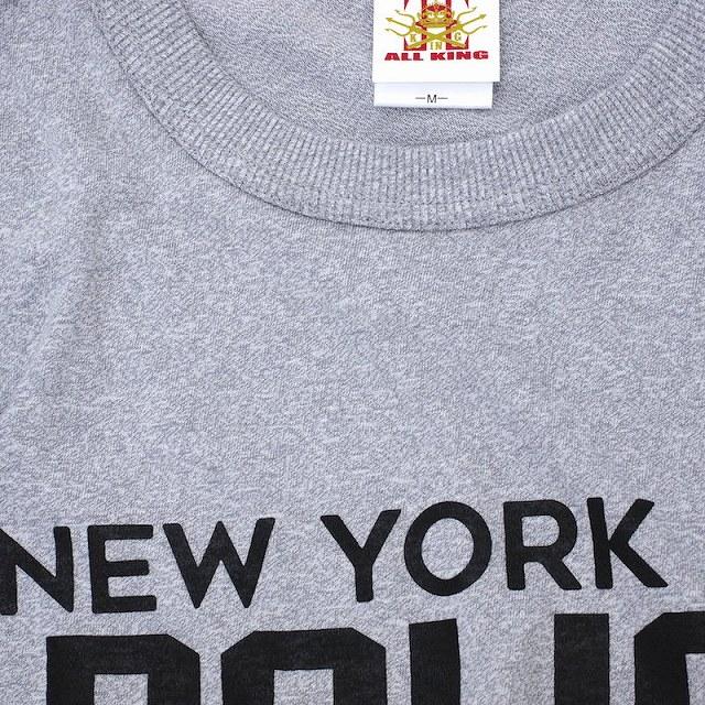 ALL KING(オールキング)NEW YORK CITY POLICE DEPARTMENT S/S Tシャツ[3色]