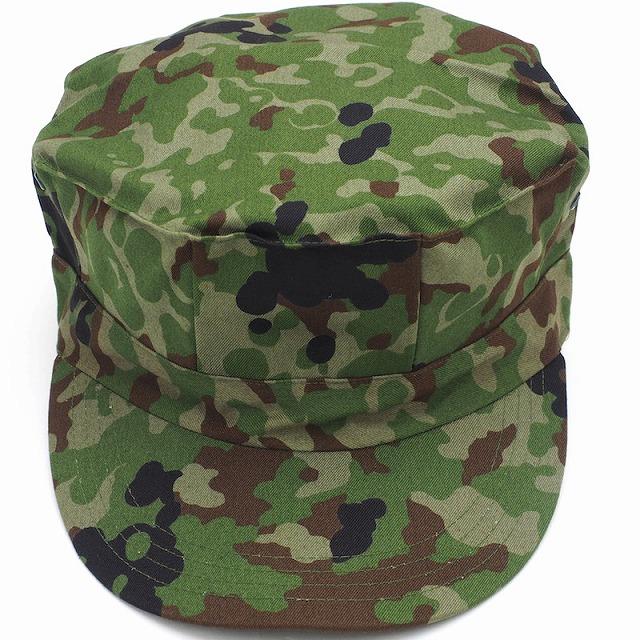自衛隊迷彩 八角帽