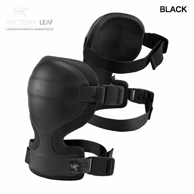 ARC'TERYX LEAF(アークテリクス リーフ)Combat Knee Caps [ニーパッド][Black][Crocodile][ライトウエイト][ロープロファイル][機動性重視]