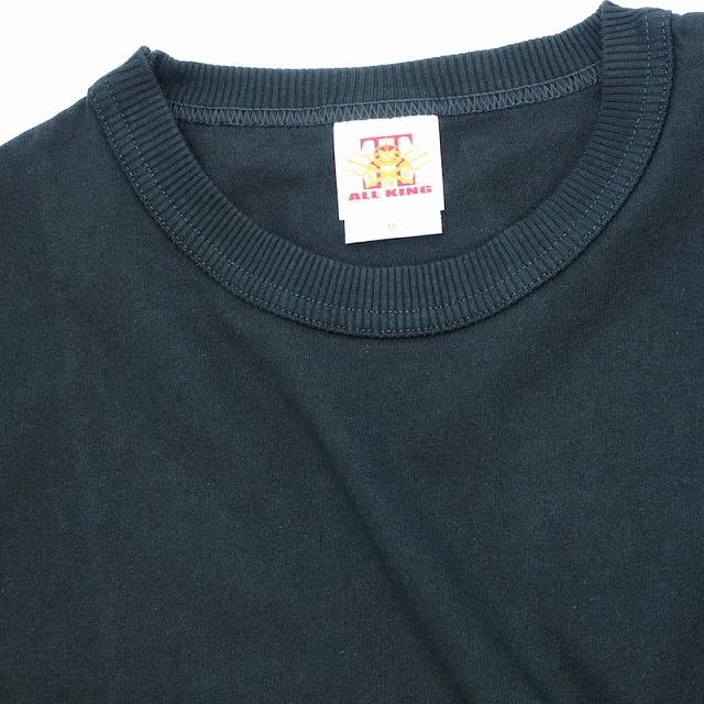 ALL KING(オールキング)プレーン 無地 S/S Tシャツ[3色]