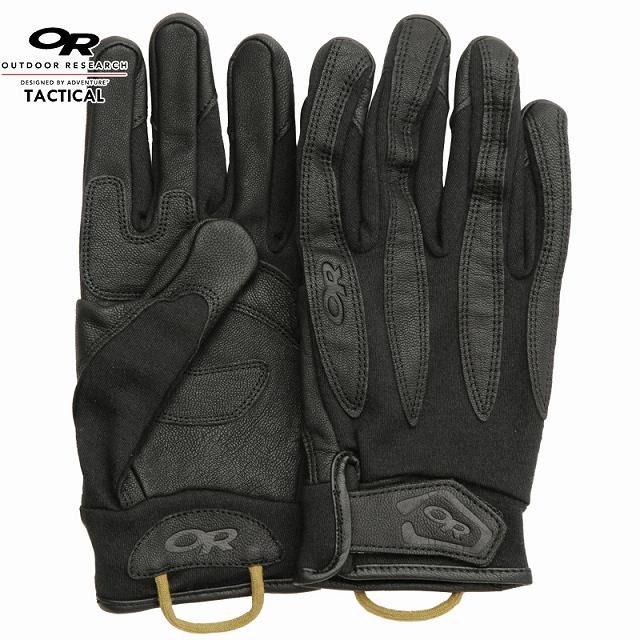 【クリアランスSALE】OR Tactical(アウトドアリサーチ タクティカル)Flashpoint Glove Black フラッシュポイントグローブ ブラック [タクティカル グローブ]