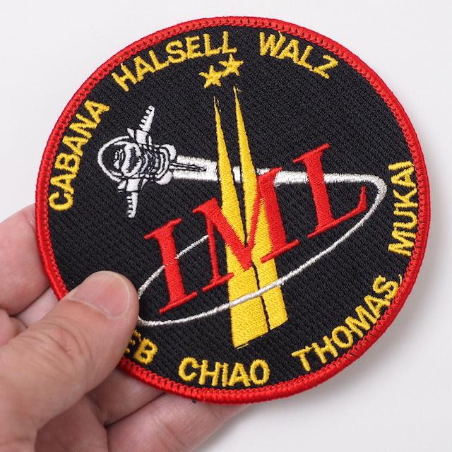 【ミリタリーパッチ】STS-65 IML スペースシャトルコロンビア号 NASA ミッションパッチ