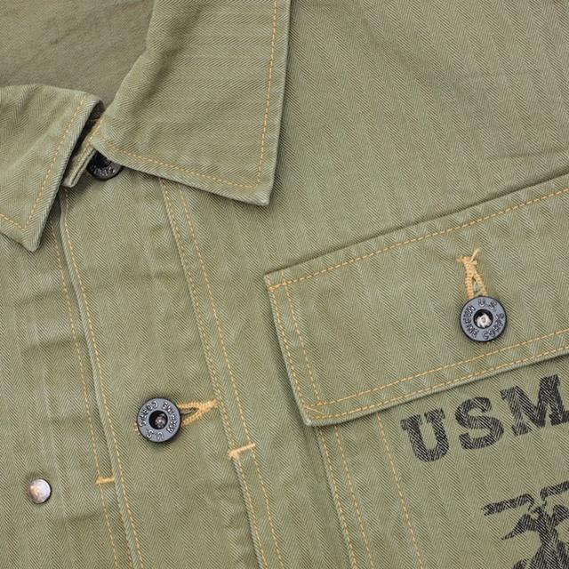 BUZZ RICKSON'S(バズリクソン)HERRINGBONE USMC JACKET [BR13550]【送料無料】