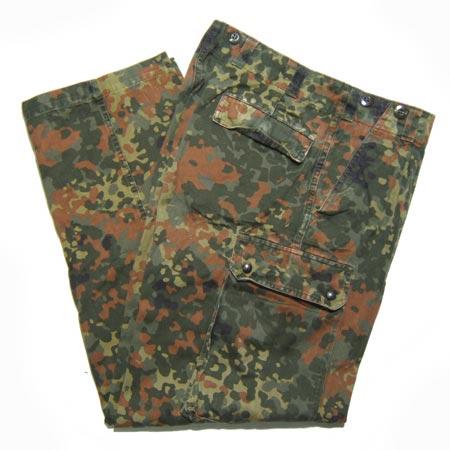 ドイツ軍 フレクタカモ パンツ [中古]