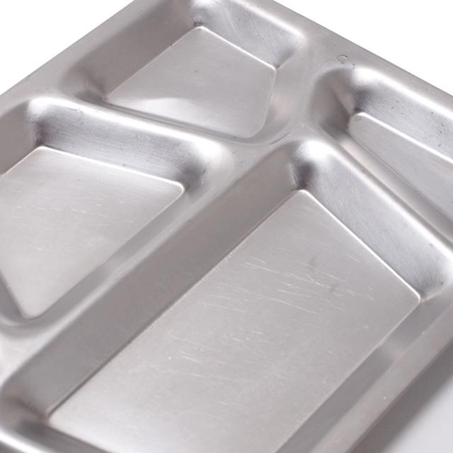 US Surplus(US サープラス) 米軍 ミリタリーステンレストレー メスプレート [食器][中古品]